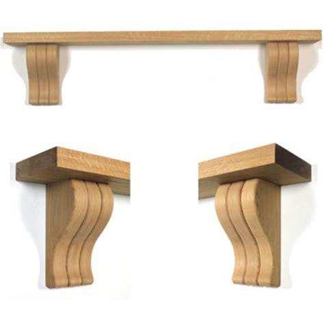 fluted corbel oak mantel shelf oak beams and mantel