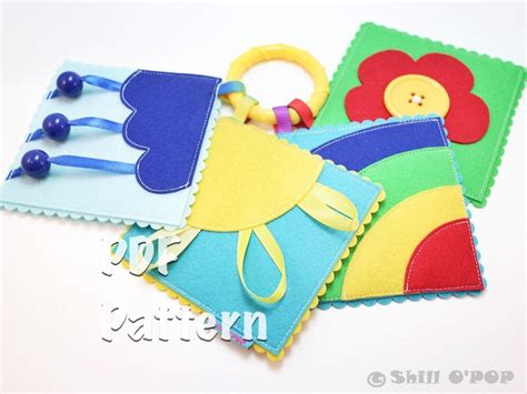 pattern for baby quiet book quiet book pattern pocket sized felt baby s first play