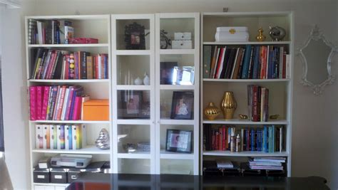 White Bookcase Ideas White Bookcase With Glass Door For Elgant Interior With Sheer Privacy Homesfeed