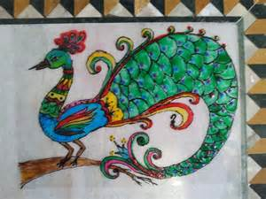 How To Paint On Ohp Sheets Glass Painting Youtube Painting Sheets