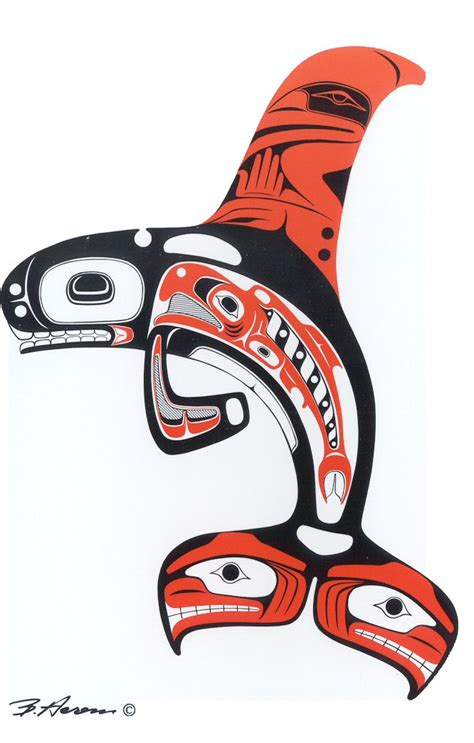 pacific northwest tribal tattoos the gallery for gt northwest tribal orca