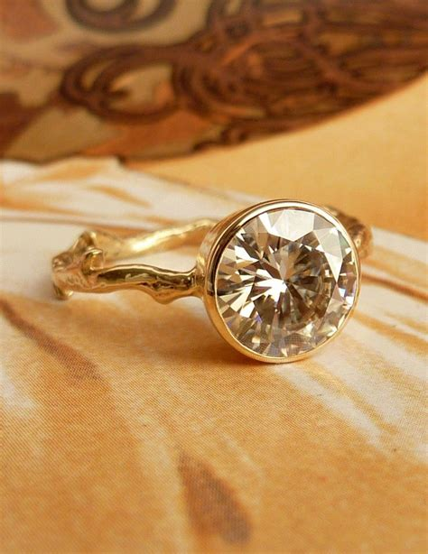 twig ring on pinterest branch ring twig engagement moissanite solitaire branch ring 8mm pinterest