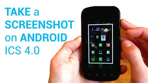 how do i take a screenshot on android how to take a screenshot on android sandwich 4 0 no root and easy