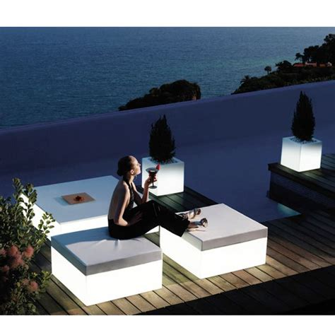 illuminated outdoor furniture vondom illuminated outdoor stools patio stool chair exterior homeinfatuation