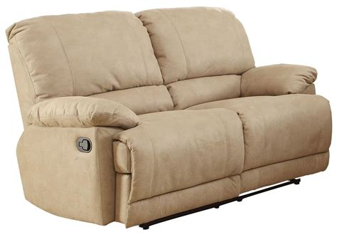 double recliner loveseat slipcovers elsie double reclining loveseat 9713nf 2 homelegance