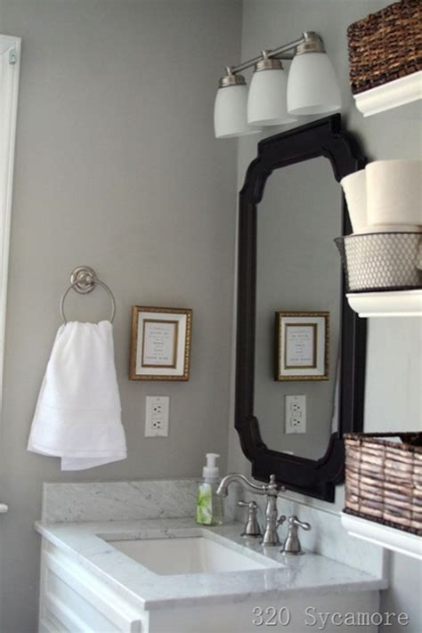 paint for bathroom walls grey walls contemporary bathroom glidden fossil grey 320 sycamore