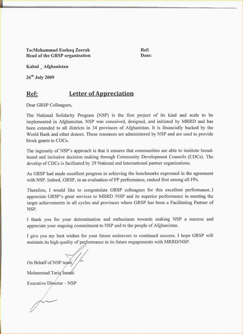 letter of appreciation to and 10 letters of appreciation mac resume template