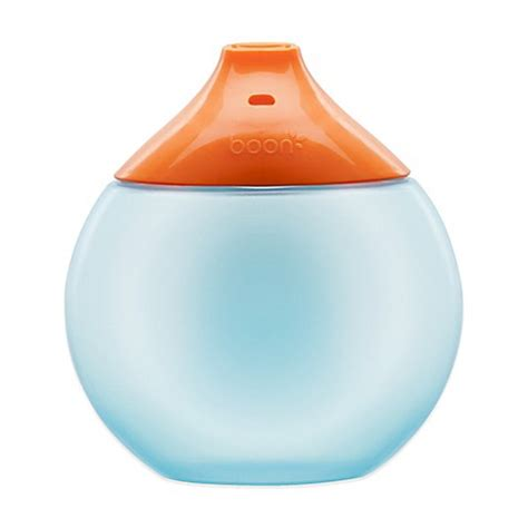 Boon Sippy Cup boon 174 fluid 10 oz sippy cup in blue orange from buy buy baby