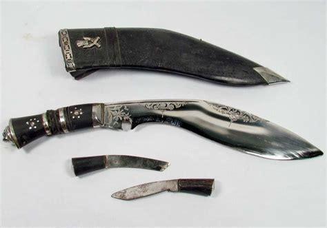 gurhka knife vintage gurkha khukuri knife w sheath