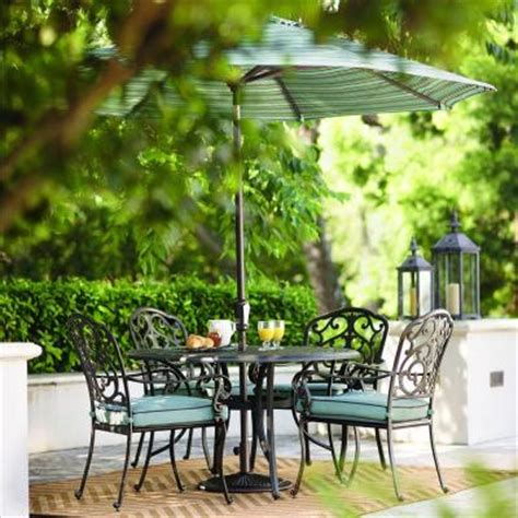 Home Depot Outdoor Patio Dining Sets by Home Decorators Collection Outdoor Madrid 5 Bronze