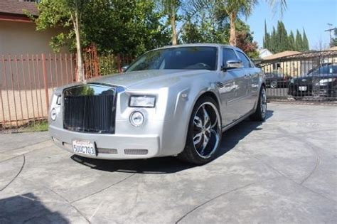 chrysler rolls royce buy used 2006 chrysler 300 limited touring 23 500 miles