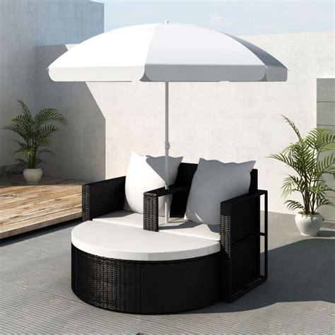 Polyrattan Lounge Schwarz by Gartenlounge Poly Rattan Lounge Set Gartengarnitur Schwarz