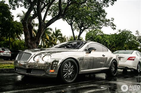 Summer Rain On Chrome Bentley Autoevolution