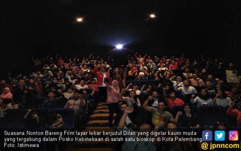 film layar lebar bioskop giri film dilan bikin baper entertainment jpnn com