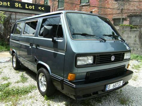 active cabin noise suppression 1984 volkswagen vanagon regenerative service manual how to fill ac in a 1988 volkswagen jetta purchase used 1988 vw vanagon gl