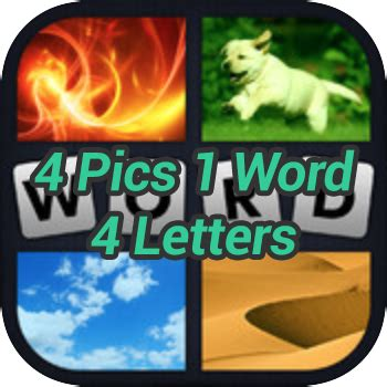 4 Pictures 1 Word Answers 4 Letter Words