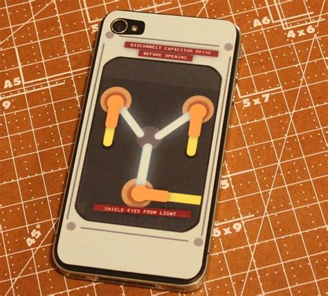 flux capacitor iphone app transform your iphone 4 into a flux capacitor