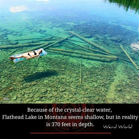 Clearest Water In The Us This Photo Is Close To The Shoreline But The Lakes Is