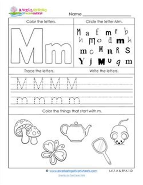 letter m worksheets worksheets by subject a wellspring of worksheets 1373