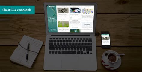 themeforest ghost dragonfly multi purpose theme for ghost blogging