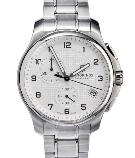 Victorinox Officer by Victorinox Officer S Chronograph 241554 1 White