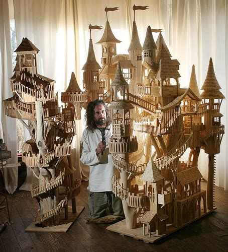 Amazing Blogs On Miniature Dollhouses by Bough House Rob Heard With His Bow Houses Photograph