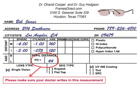 how to get you eyeglass prescription from your dr eyeglasses