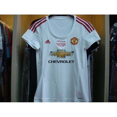 Jersey Mu Away Fa Cup Cetak Nama Patch adidas manchester united away 2015 16 with fa cup