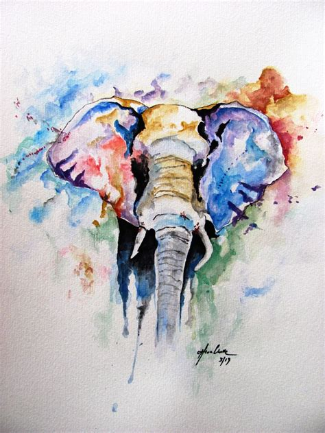 watercolor tattoo dc watercolor elephant поиск в красиво