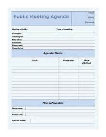 meeting agenda template download free amp premium