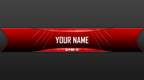 youtube banner gaming template download youtube gaming banner template best business template