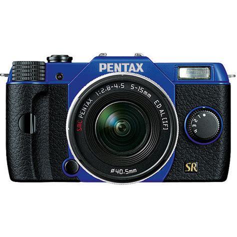 Kamera Mirrorless Pentax Q7 pentax q7 compact mirrorless with 5 15mm f 2 8 4 5 13862