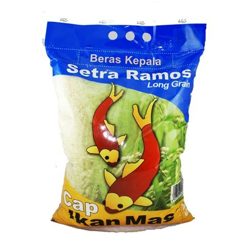 Beras Ramos 25 Kg Cap Kupu Kupu beras cap ikan setra ramos 5kg
