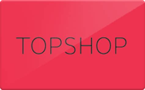 Topshop Gift Cards - sell topshop gift cards raise
