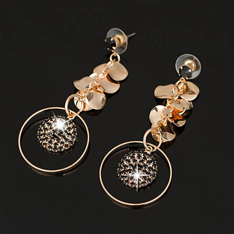aliexpress buy new design dangle earring gold plated