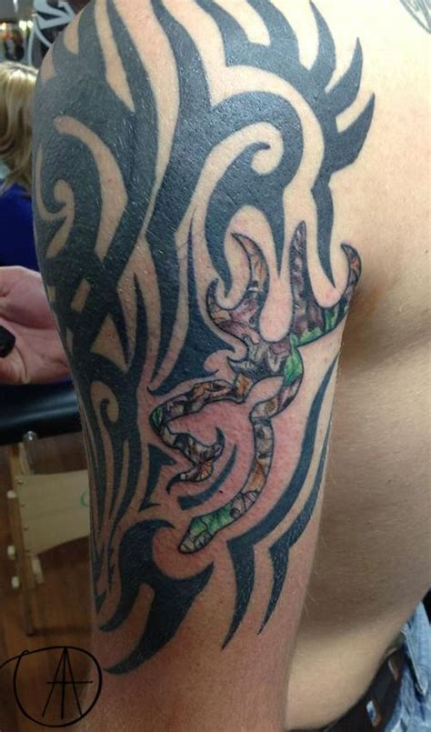 tribal browning tattoo browning symbol and tribal by tuesday cool