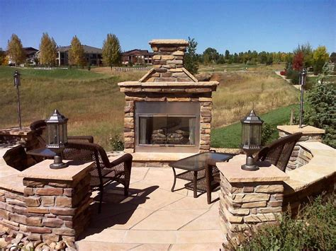 precast concrete outdoor fireplace kits prefabricated outdoor fireplace kits jen joes design