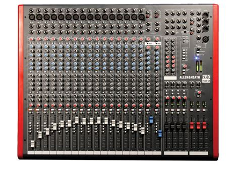 Mixer Allen Heath Zed 16 mixer consola allen heath zed 420 de 16 canales fact a b