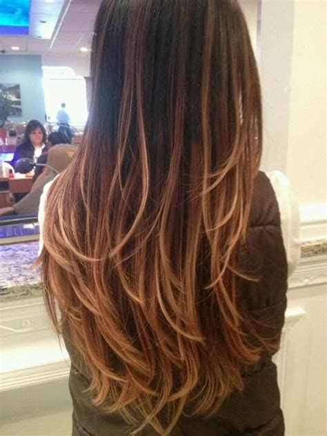 honey brown hair with ombre ombre hair color rich dark brown milk chocolate brown