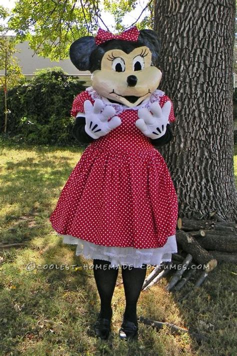 Handmade Minnie Mouse Costume - minnie mouse costume