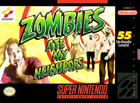 emuparadise zombies ate my neighbors zombies ate my neighbors snes by lucasarts video games