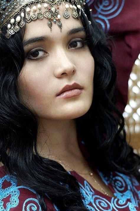 beautiful lady uzbekistan pretty lady faces of the people passport