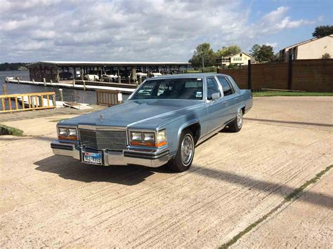 86 Cadillac Fleetwood Brougham by 1986 Cadillac Fleetwood Brougham For Sale Classiccars