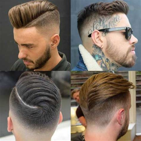 hairstyles long on top and short back and sides short back and sides haircut