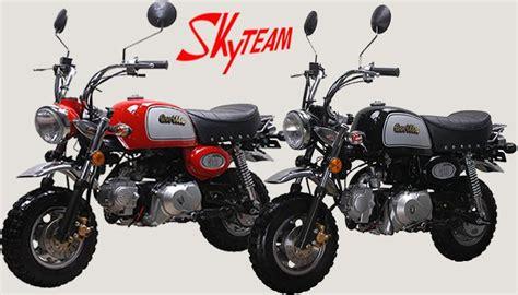 Kleines Motorrad Oder Drosseln skyteam st 50 8a 50ccm gorilla nachbau skyteam motorrad