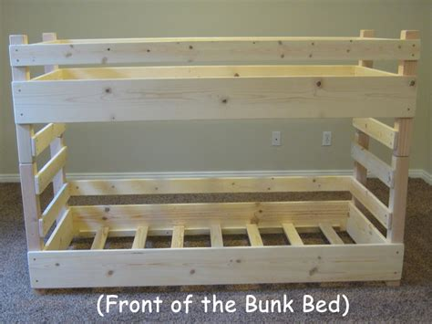 Bunk Beds Building Plans Toddler Bunk Bed Plans Do It Yourself Diy Plans For Building A Crib Size Toddler Bunk Bed