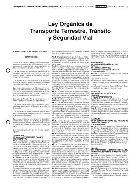 nueva ley de transito 2016 nueva ley de tr 225 nsito ecuador by rafael estrella issuu