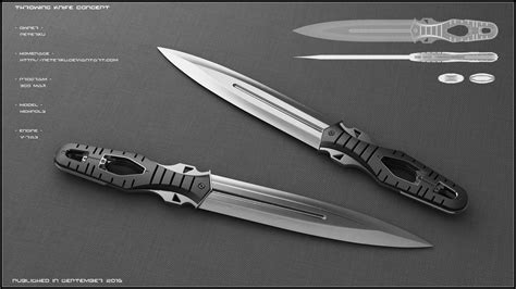 future knife throwing knife concept by peterku on deviantart