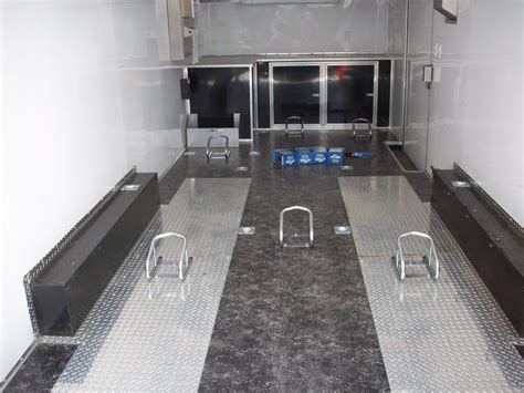 Motorcycle Trailer Flooring by Trailer Accessories Pac West Trailers
