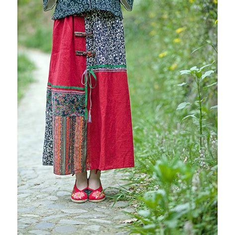 Patchwork Style - 2016 summer styles mosaic flower cotton linen